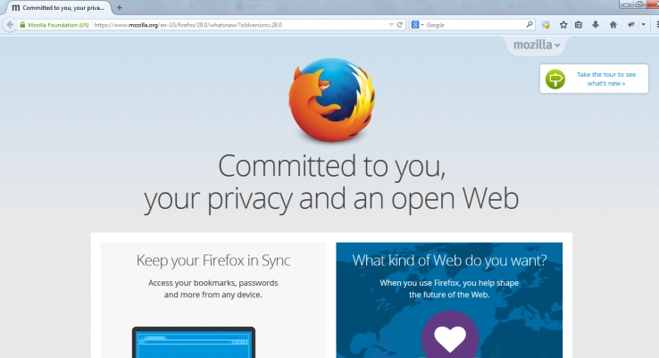 Firefox gets huge redesign