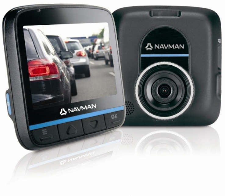 Black Box driving recorder from Navman