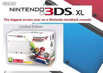 Nintendo 3DS XL - Limited White Edition coming Dec 6 2012