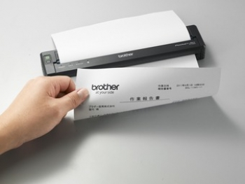 Brother portable printer, one for the 'mobile road warriors'
