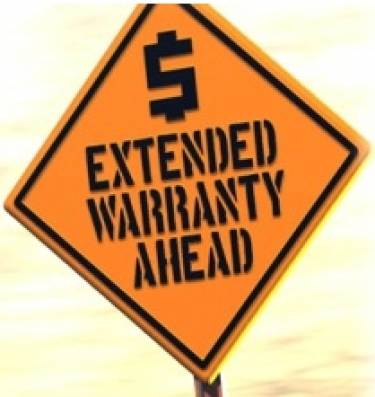 Extended warranties not worth the paper they are written on