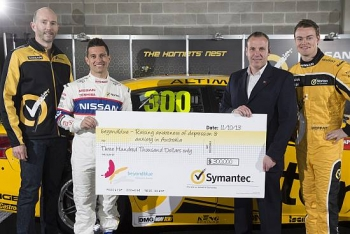 Symantec helps keep beyondblue in the black at Bathurst