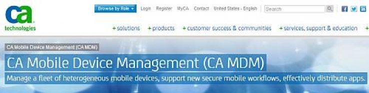 CA enters MDM market with a kickstart from SAP