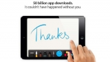 Apple's app store appealing – 50 billion downloads since July 2008