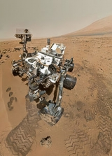 High-Resolution Self-Portrait by Curiosity Rover Arm Camera. On Sol 84 (Oct. 31, 2012).