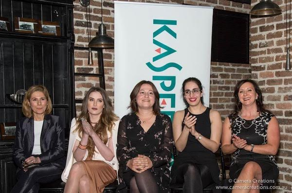Kaspersky IoT security female panel