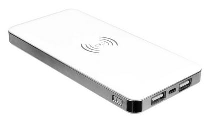 Laser Qi power bank