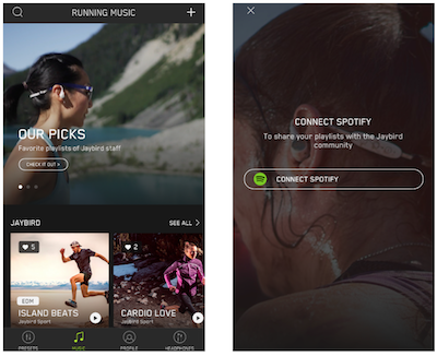 iTWire - Jaybird lets you fly high with Spotify: run Spotify