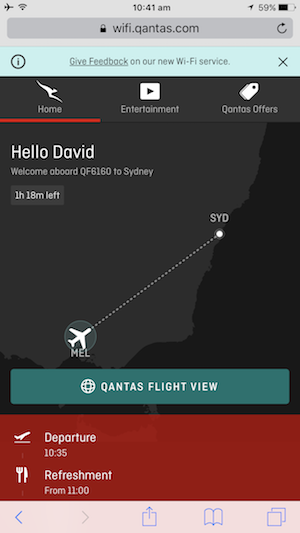 iTWire - Qantas launches fast, free on-flight Wi-Fi