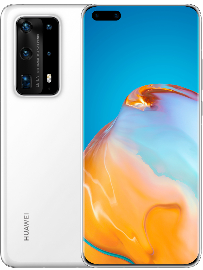 huawei p40 front and back