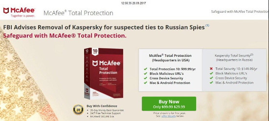 mcafee capitalise