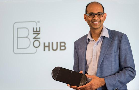 Anup Raghavan CEO of AEG with B One Hub