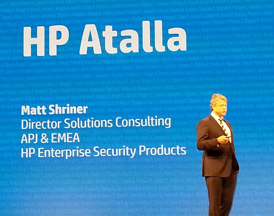 HP Atalla Matt Shriner
