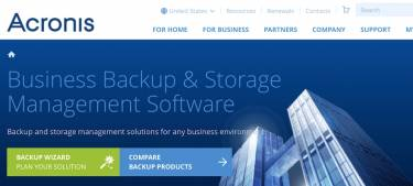 Acronis: New versions of its business backup solutions have landed