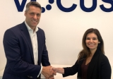 Andrew Wildblood and Laura Padilla seal the deal.