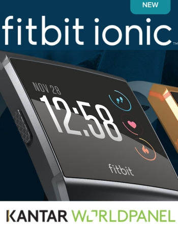 Kantar confers kudos on Ionic Fitbit, says death of wearables exaggerated
