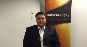 VIDEO: Interview with Perceptive Software's Greg Huebner
