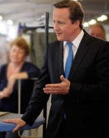 UK Prime Minister Cameron - guaranteed data security will be denied