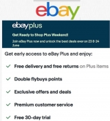 eBay Plus Weekend on June 23 and 24 promises genuinely massive deals up to 72% off