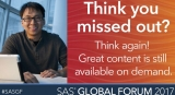 SAS – saving analytics' soul