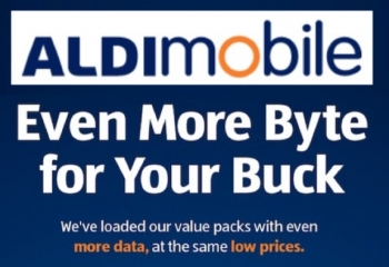 ALDImobile launching data upgrades to five of its mobile plans from 14 August 2019