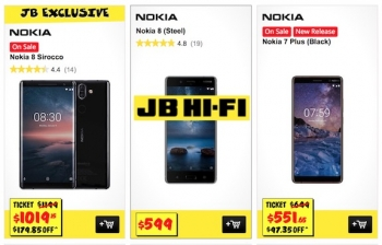 Nokia's JB Hi-Fi flash sale: 15% off all models until Sunday 3 June
