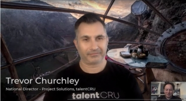 VIDEO Interview: talentCRU's Trevor Churchley explains the super productive modern working revolution