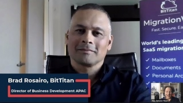 VIDEO Interview: BitTitan's Brad Rosairo explains secure data migration to the cloud - and more!