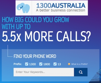 Telstra 'PhoneWords' founder buys Telstra's 85% stake, renames to 1300 Australia