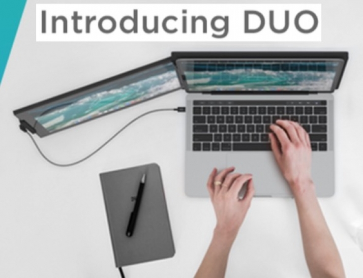 iTWire - DUO promises 'on-the-go dual screen laptop monitor