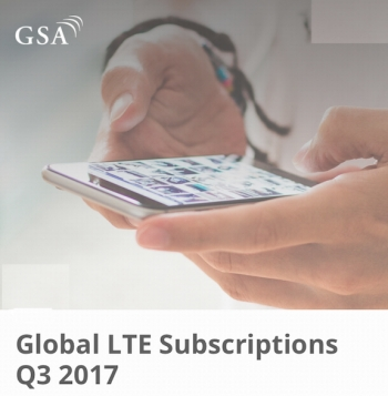 LTE subscriptions now more than 32% of all global mobile subs