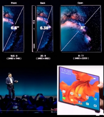 MUST-SEE VIDEOS: Huawei seeks Game of Phones throne with new foldable Mate X at MWC 2019