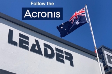 Leader secures Acronis Cyber Protect Cloud portfolio distribution deal for Australia