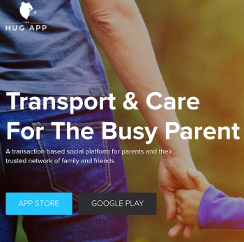 The Hug App launches to solve child transport and care requirements for parents