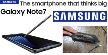 Is the Samsung Galaxy Note7 smoking hot? Exploding batteries say yes!