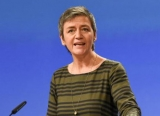EU Competition Commissioner Margrethe Vestager.