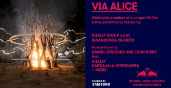 VR: Red Bull Music Academy and Samsung present VIA ALICE
