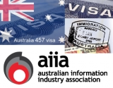 AIIA welcomes 'expanded 457 visa MLSSL for ICT specialists'