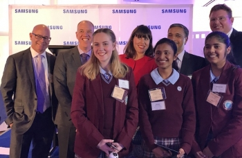 VIDEOS: Samsung Australia and University of Canberra grow STEM skills spatially