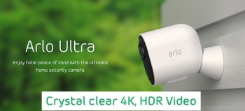 Arlo's Ultra 4K HDR wireless security cameras finally available worldwide