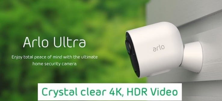 iTWire - Arlo's Ultra 4K HDR wireless security cameras