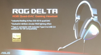 ASUS announces new Tuf Gaming brand and ROG Delta USB-C headphones