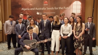 FULL VIDEOS: 24 Australian Uni students successfully complete Huawei's Seeds for the Future program