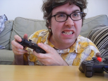 File photo of a self-proclaimed 'geeky gamer'