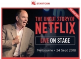 MUST-SEE: Marc Randolph, Netflix co-founder on stage Melbourne Town Hall 24 September 2018