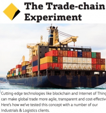 VIDEO: CommBank completes 'new blockchain-enabled global trade experiment'