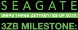 Seagate claims first to ship 'over 3 Zettabytes of data storage capacity'