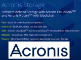 Acronis Storage: 'Notary' with Blockchain and Acronis 'CloudRAID' to Software-Defined Storage