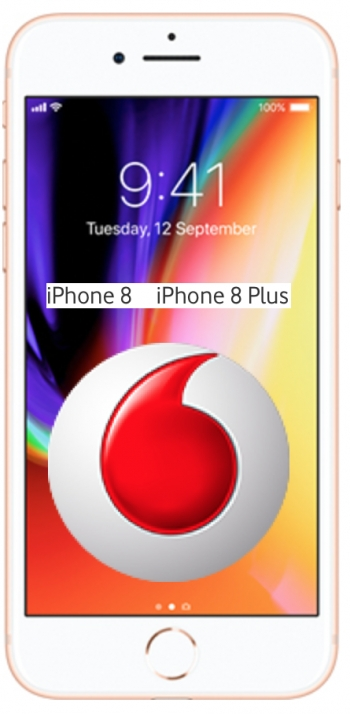 Vodafone iPhone 8 and 8 Plus plans also released