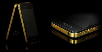 A gold plated iPhone 4S, already available